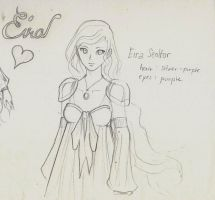 3 minute Sketch - Eira Seolfor by BunnyVoid