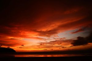 Andaman Island Sunset by drewhoshkiw