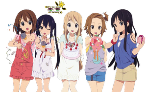 K-ON Render by CielXElizabeth
