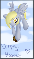 Derpy Hooves Present by xAribelle
