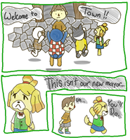 AC: New Leaf- Random Comic 1 by JabuJabule