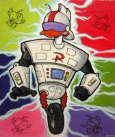 Gizmoduck by albertoo