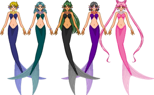 Mermaid scouts 'outers' by Magnolia667