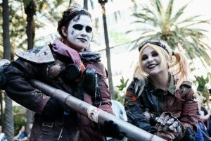 Post Apocalyptic Harley Quinn and thug. by DiaryofADoll