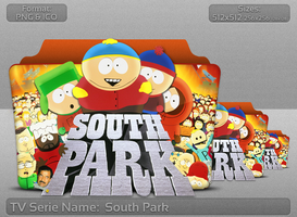 South Park - Tv Series Folder Icon by atty12