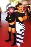 Blair and Free - Soul Eater Cosplay by Tazcrazy25