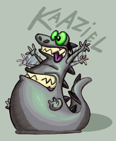 Kaaz the klutz by Kaaziel