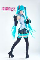 Hatsune Miku Cosplay by Kelly Hill Tone by KellyHillTone