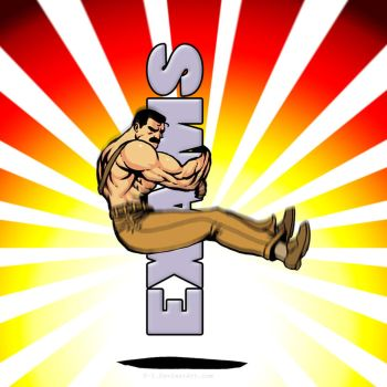 Mike Haggar PileDriver - Exams by F-1