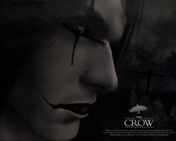 The Crow Wallpaper by venomx