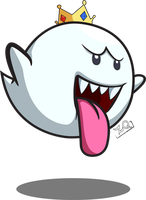 King Boo by ZeroQuasar