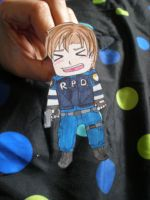 Leon Scott Kennedy paper doll by Luckyoctopus