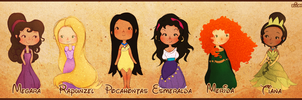 Disney Girls by elicoronel16