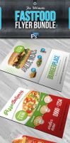RW Fast Food Flyers by Reclameworks