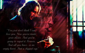 Empty Heart, Chipped Cup by TheMadSwan