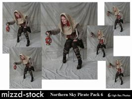 Northern Sky Pirate Pack 6 by mizzd-stock