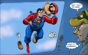 Superman, Super Mario - the secret revealled! by Nick-Perks