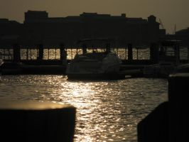 Sunset on the Dock2 by demboys18