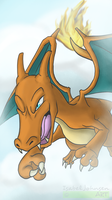 POKECHALLENGE - Nr.1 - Charizard by issabissabel