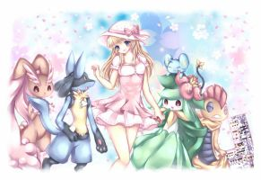 + My Pokemon Team +