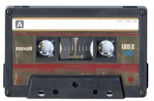 Maxell Cassette Tape by Cliffski