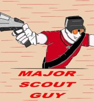 Major Scout Guy: Improved Version by animedugan