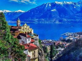 Locarno, Switzerland by dzinefull