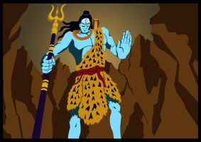 Lord Shiva by prashy