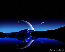 The magic of the night by Savrille