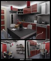 Kitchen design 1 by akula13