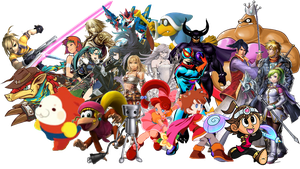 Super Smash Bros. Wii U Nintendo DLC Wishlist New by NintendoFanDj