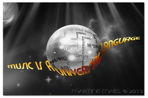 Music is a Universal Language by M10tje