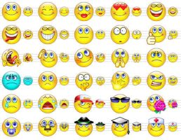 Cute Smile Icons by mikeconnor7