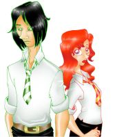 Snape n Lily by Severus-Snape-Club