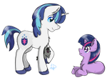 Fanfictionist13- Shining Armor and Twilight (FD) by Lyx-D