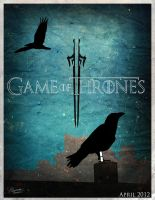 Game of Thrones Minimalist Poster by Bandomus