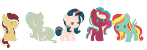 Fluttershy shipping adopts ! ( From 1-5 points) by CutiePieLilly