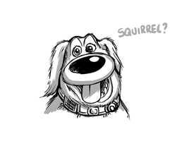 Doug the dog quick sketch by Tommassey250
