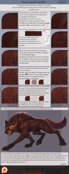 Fur coat effect (Eng) by Yakovlev-vad