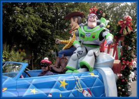 MGM Christmas Parade Toy Story by WDWParksGal