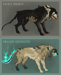 BEAST ADOPTABLES 01 CLOSED by Insol