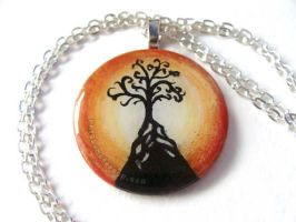 Tree of Life - Pendant Necklace by sobeyondthis