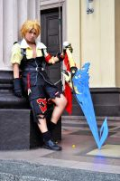 -Dissidia: Tidus II- by lethargic-angel