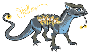 Steller the Drageleon by ssleepy