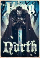 The KING in the NORTH by thenota