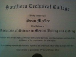 College Diploma by eegcmnaes