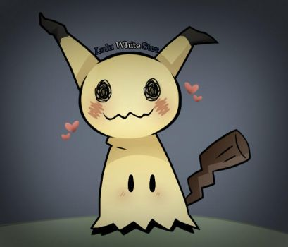 Mimikkyu is too cute for you. by LuluWhiteStar