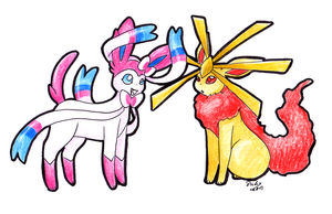 New eeveelution by pitch-black-crow