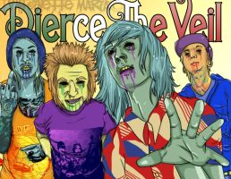 Pierce The Veil: Sexicans by SlicedBerry-Pro