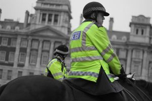 Mounted Police in London by OllieCipres
